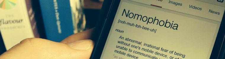nomofobia significato