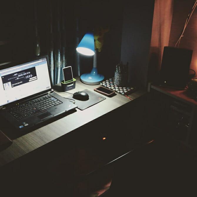 studiare di notte