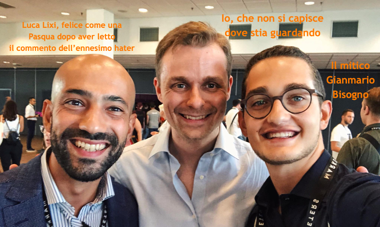 Andrea Giuliodori, Luca Lixi, Gianmario Bisogno