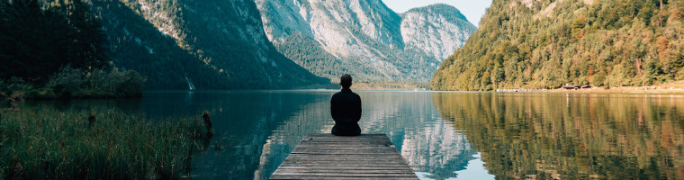 minimalismo digitale: calma