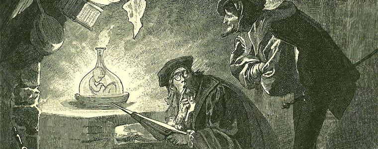 Faust e il suo patto con il diavolo