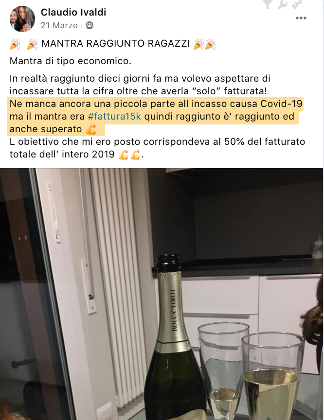 Testimonianza Claudio Ivaldi