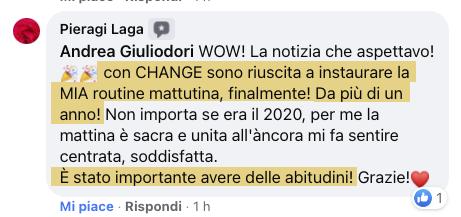 testimonianza CHANGE