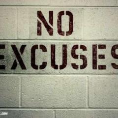 niente scuse